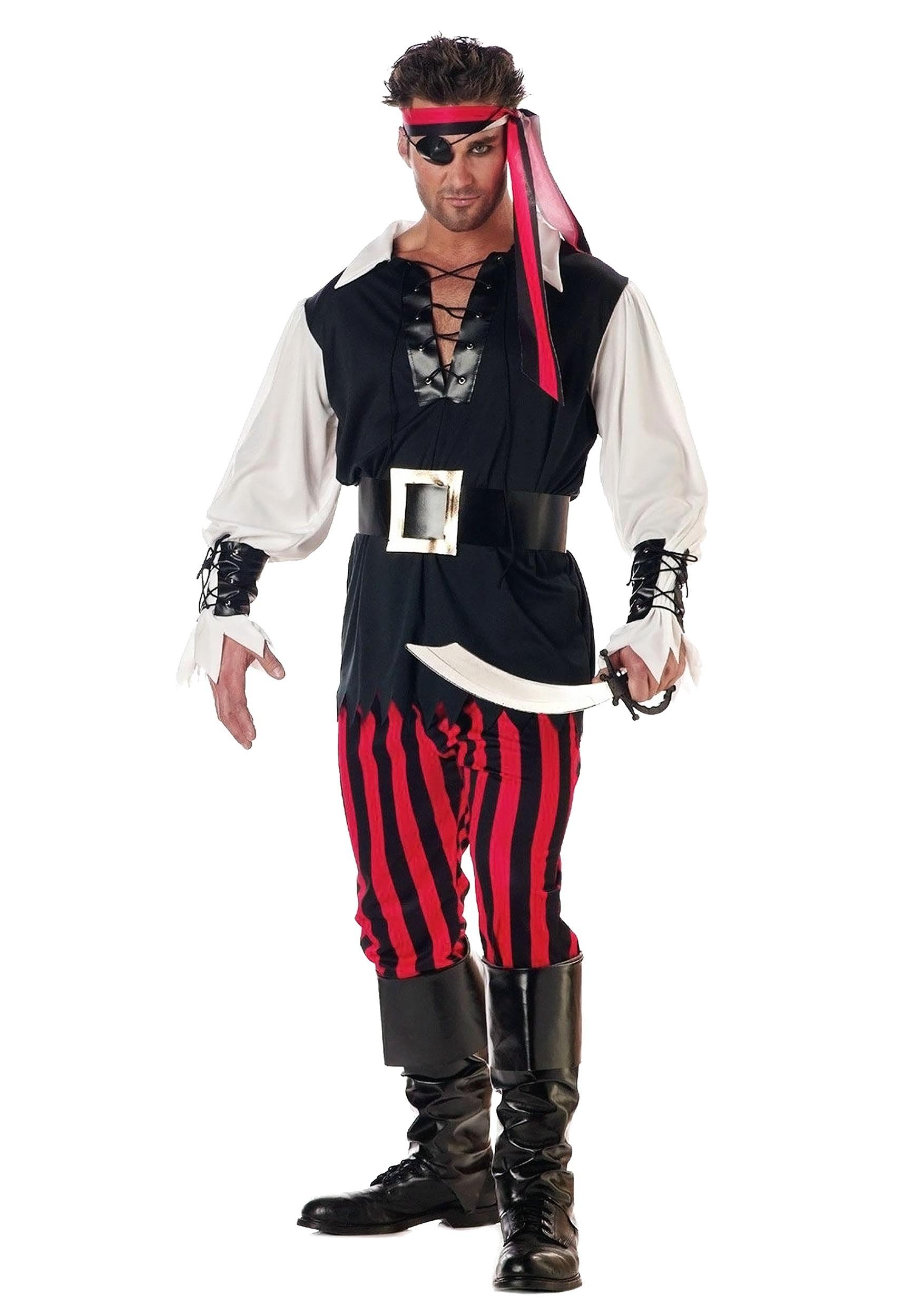 Cutthroat Pirate Costume for Men