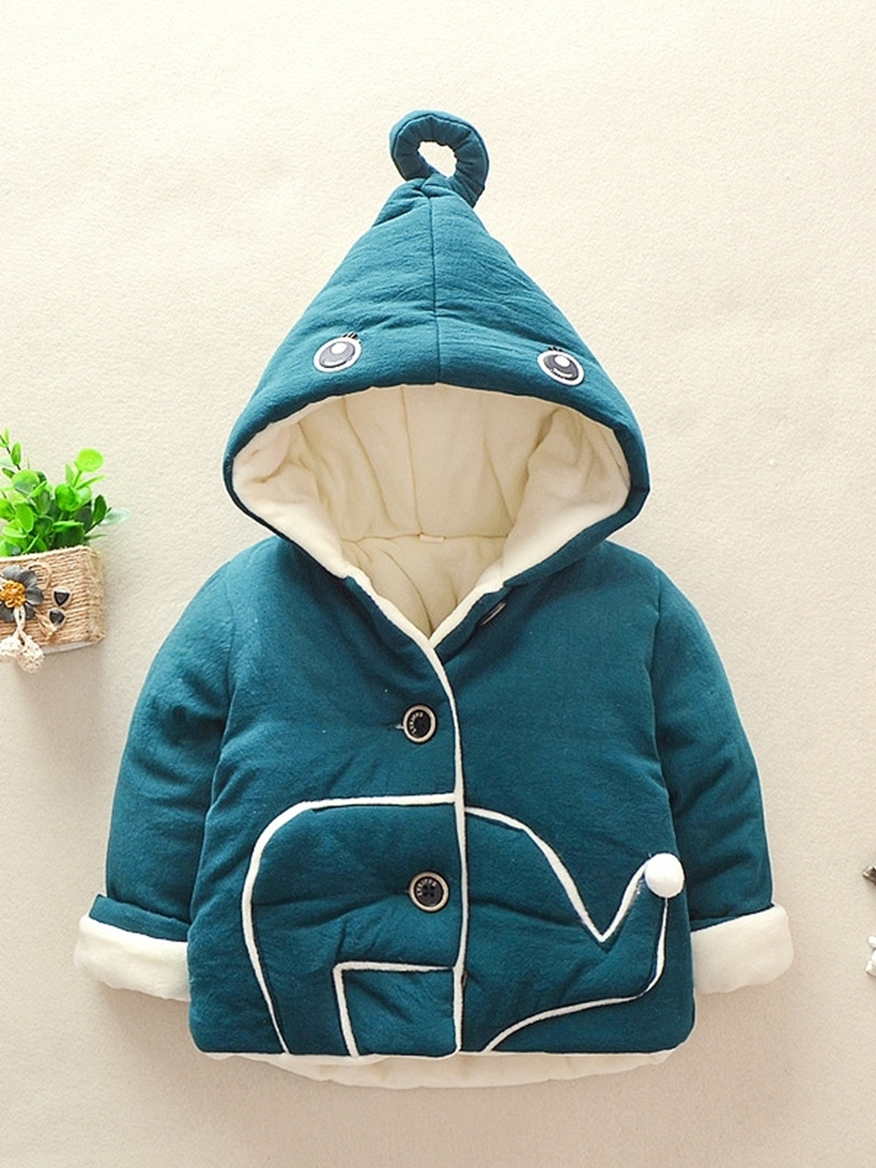 Ericdress Cartoon Hooded Coat