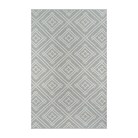 Madcap Cottage By Momeni Everglades Club Rectangular Indoor/Outdoor Rugs, One Size , Gray