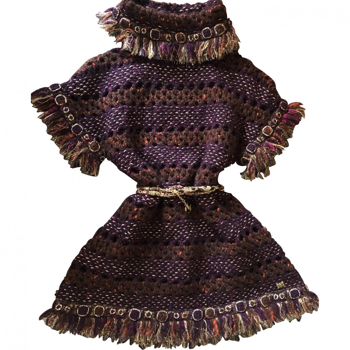 Chanel \N Burgundy Wool dress for Women 34 FR