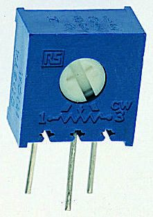 Bourns 500kΩ, Through Hole Trimmer Potentiometer 0.5W Side Adjust , 3386
