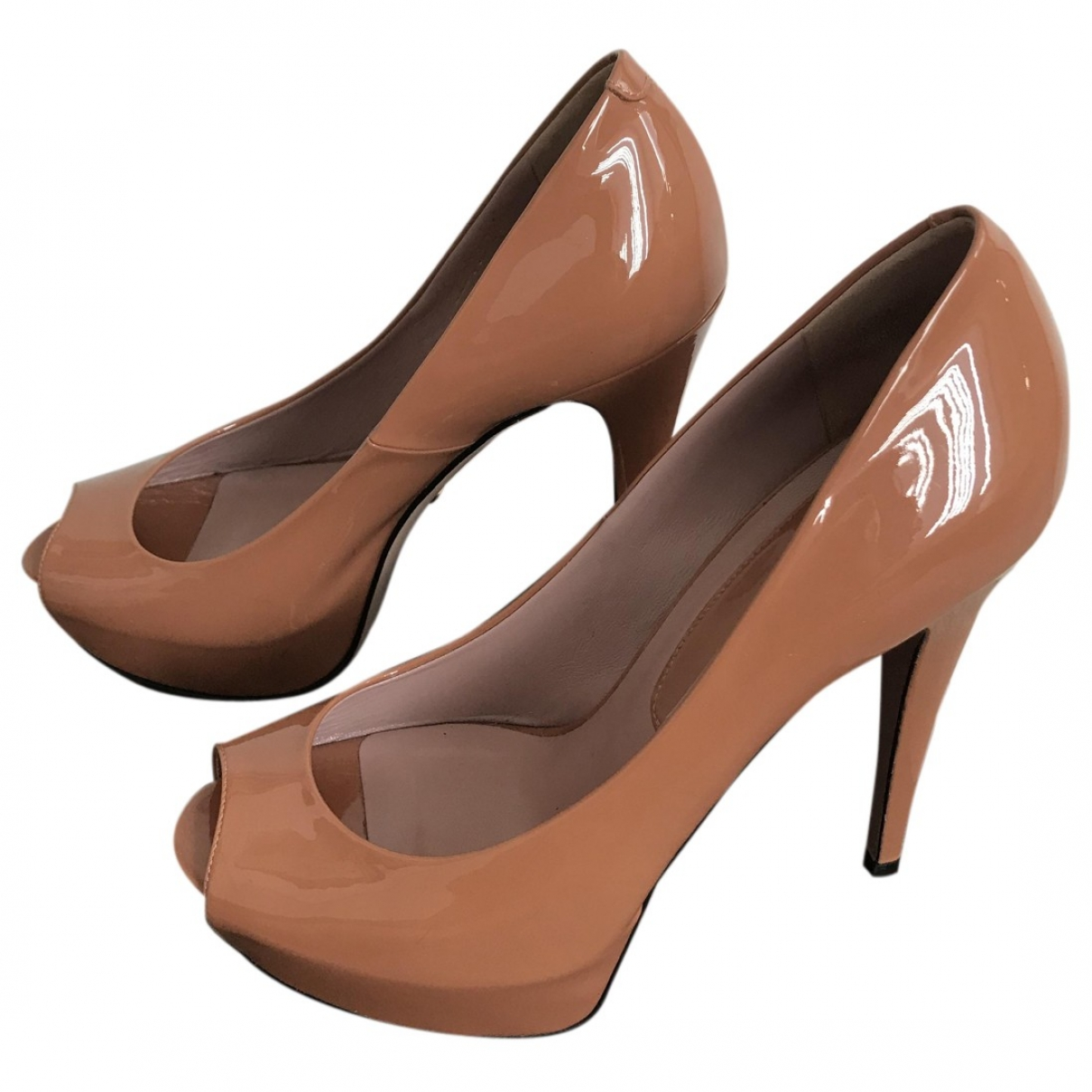 Gucci \N Patent leather Heels for Women 5.5 UK