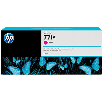 HP 771A B6Y17A cartouche d'encre originale magenta