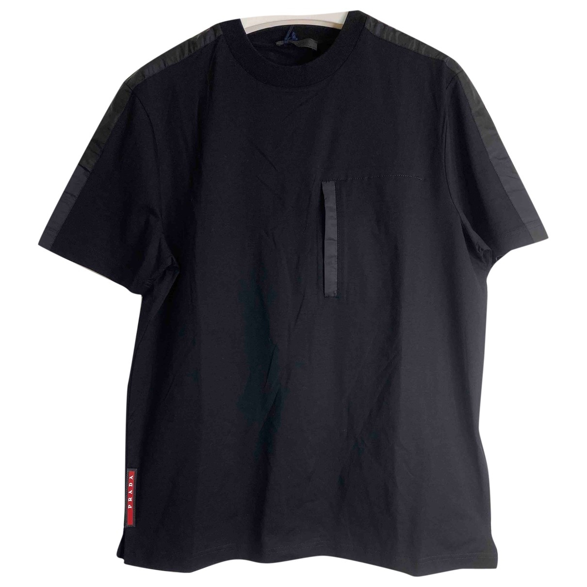 Prada \N Black Cotton T-shirts for Men XS International
