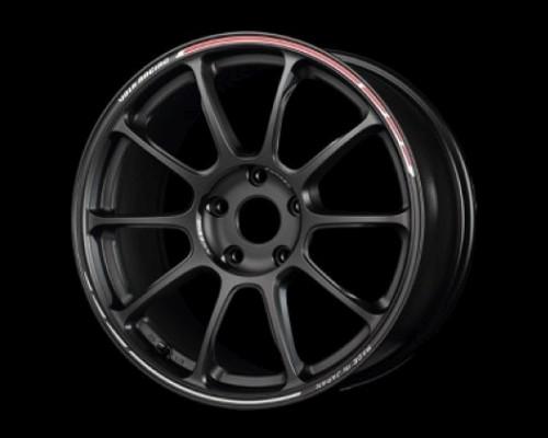 Volk Racing WKZTV44DUR ZE40 Time Attack II Wheel 18x8.5 5x100 44mm Matt Gun Black/REDOT