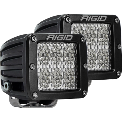 Rigid Industries D-Series Pro Spector Diffused Surface Mount LED Light Pods - 502513
