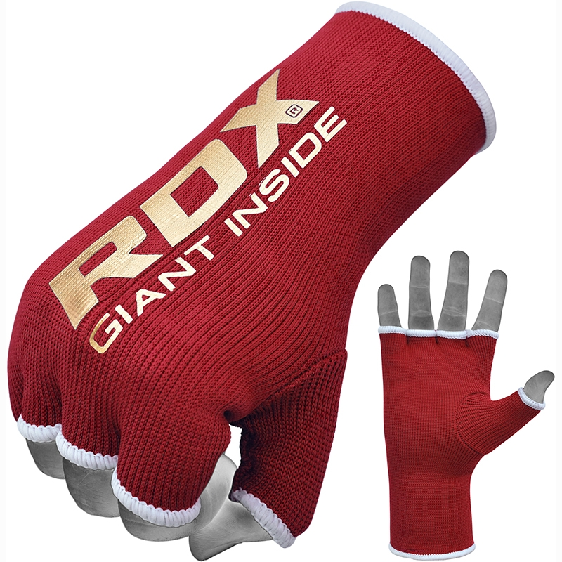 RDX IB Inner Hand Wrap Gloves Martial Arts Red Large
