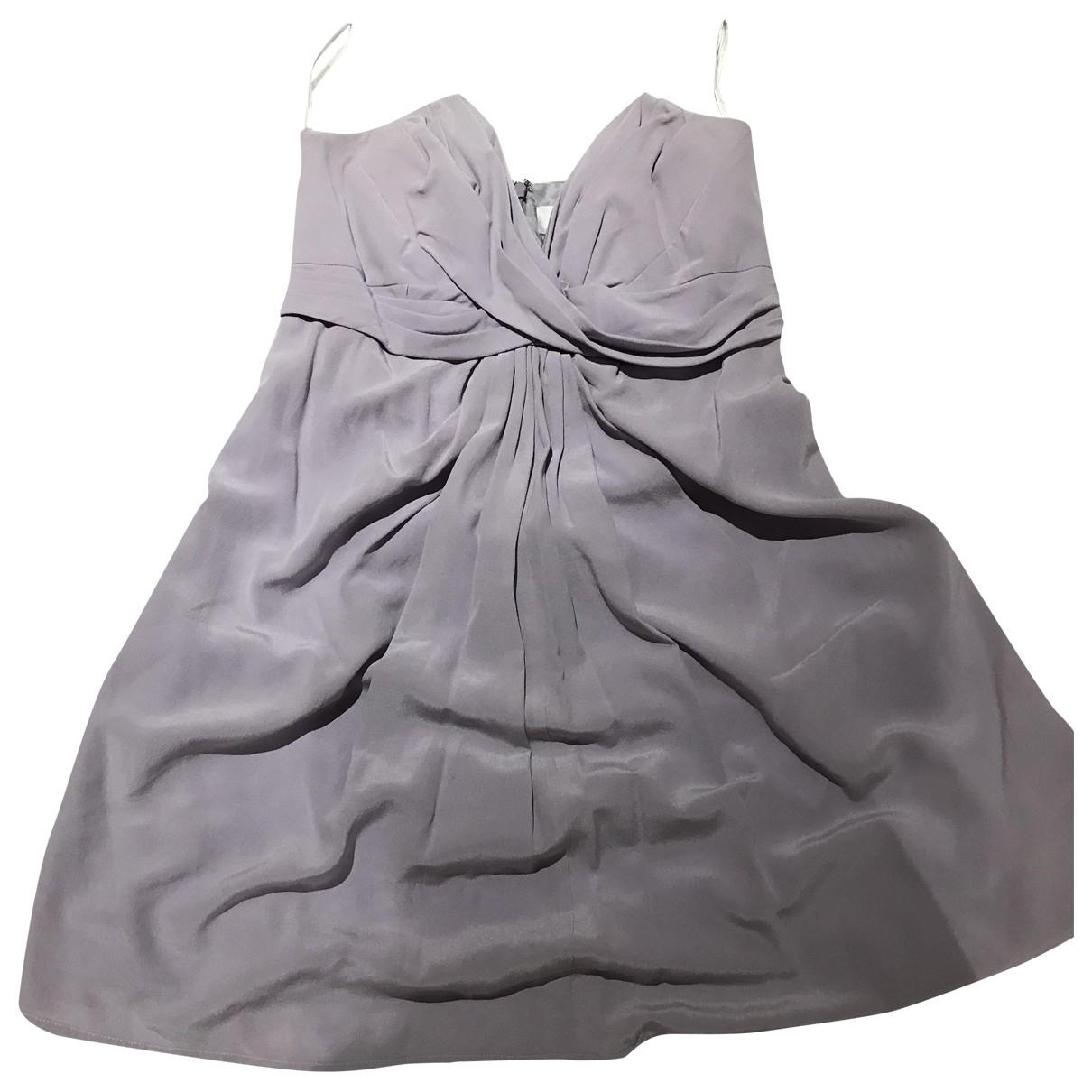 Zimmermann \N Purple Silk dress for Women 8 US