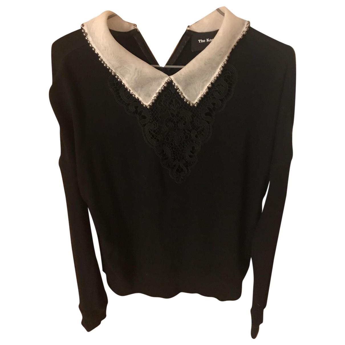 The Kooples \N Black Cotton Knitwear for Women 36 FR