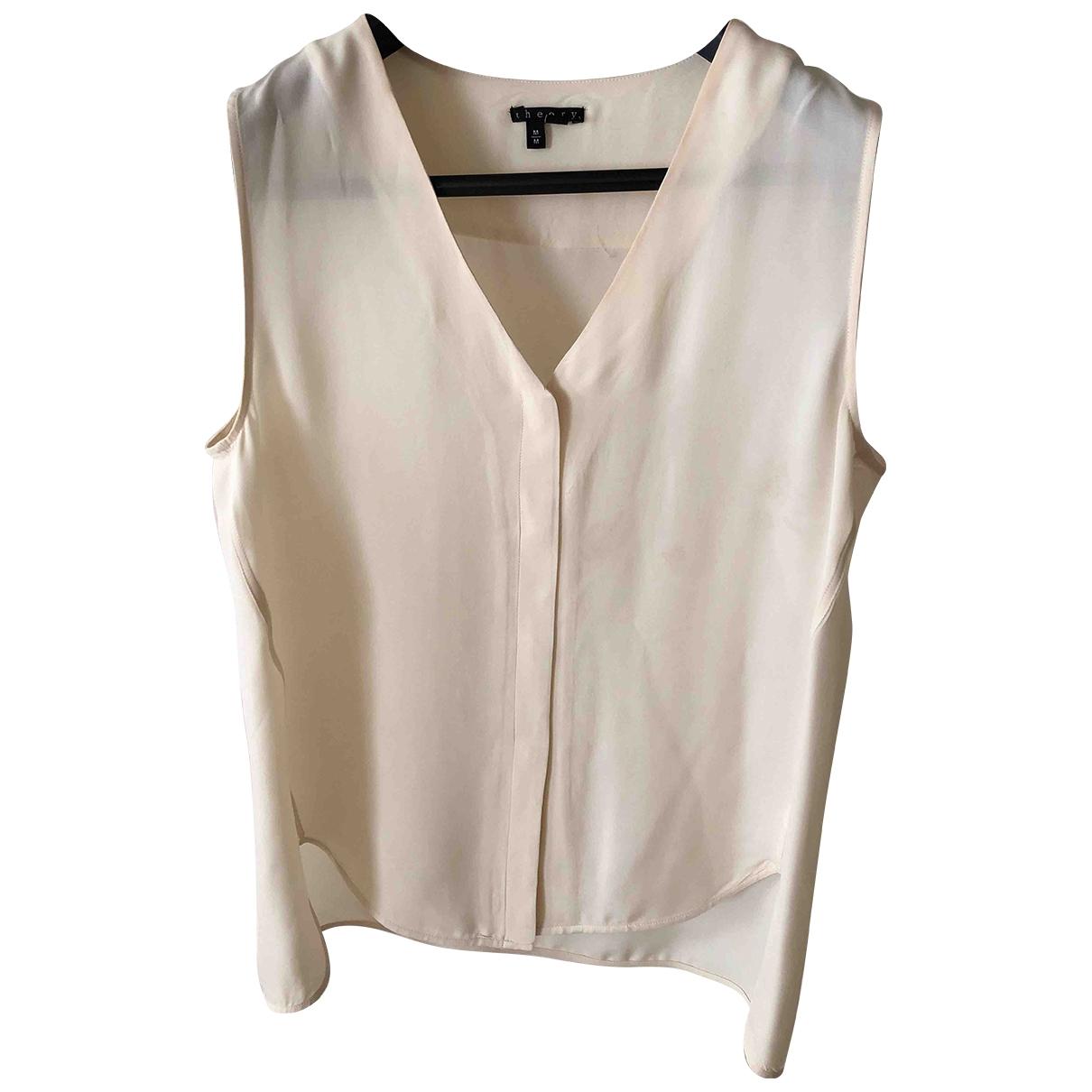 Theory \N Beige Silk  top for Women M International