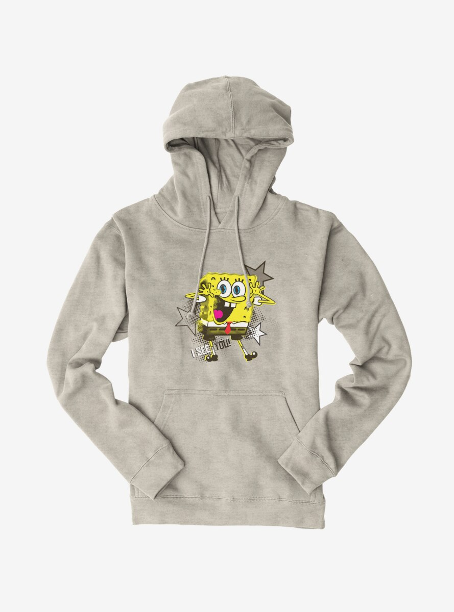 SpongeBob SquarePants I See You Stars Hoodie