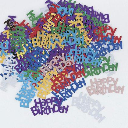 Lettres multicolores