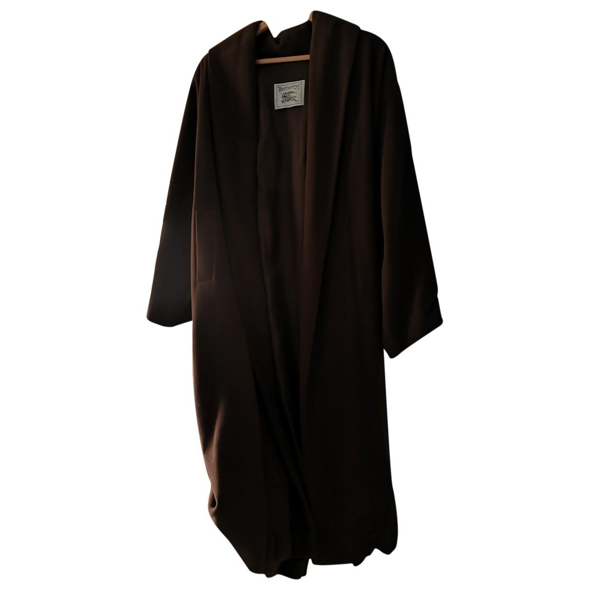 Burberry \N Brown Wool coat for Women 40 FR