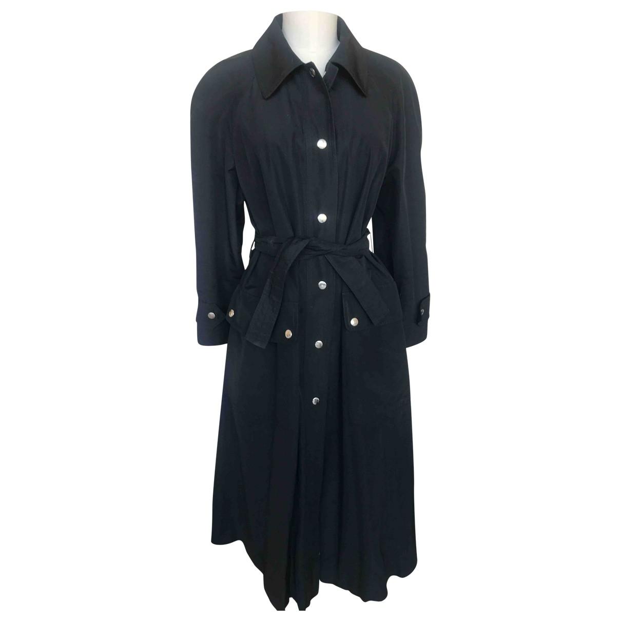 Prada \N Black Trench coat for Women 42 IT