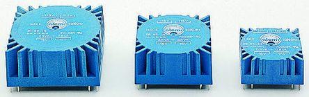 Nuvotem Talema 115V ac, 230V ac, 2 x 22V ac Toroidal Transformer, 7VA 2 Output