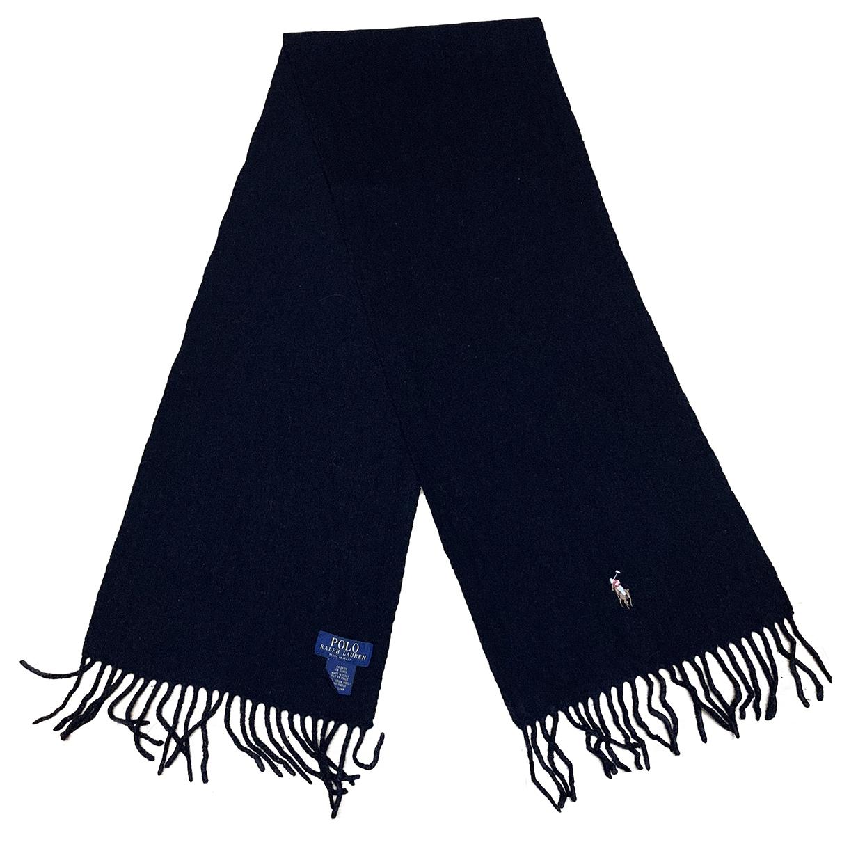 Polo Ralph Lauren \N Black Wool scarf for Women \N