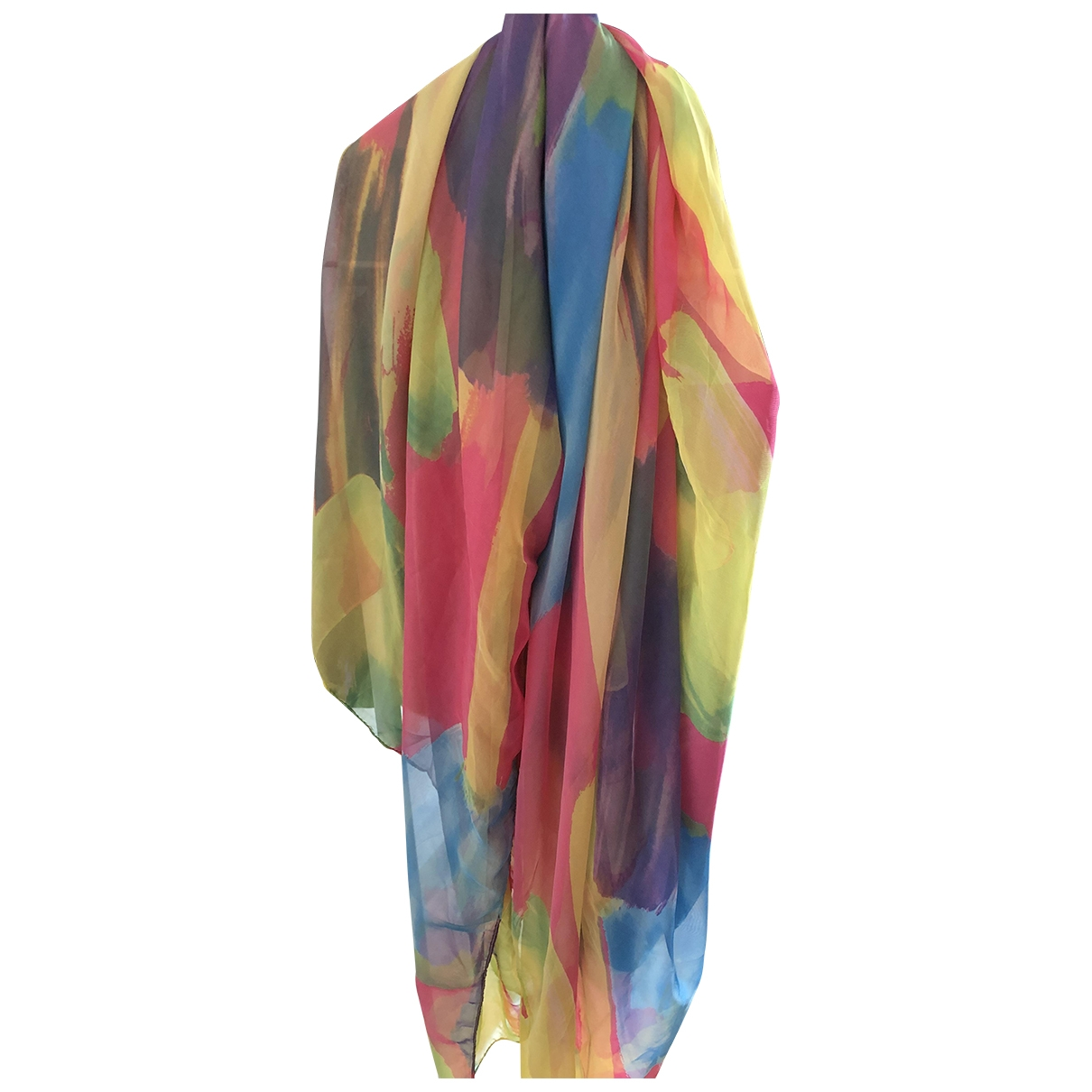 Non Sign?? / Unsigned \N Multicolour Silk scarf for Women \N