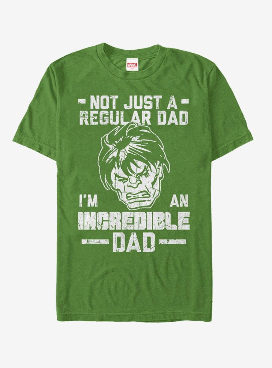 Marvel Father's Day Hulk Not Regular Dad T-Shirt