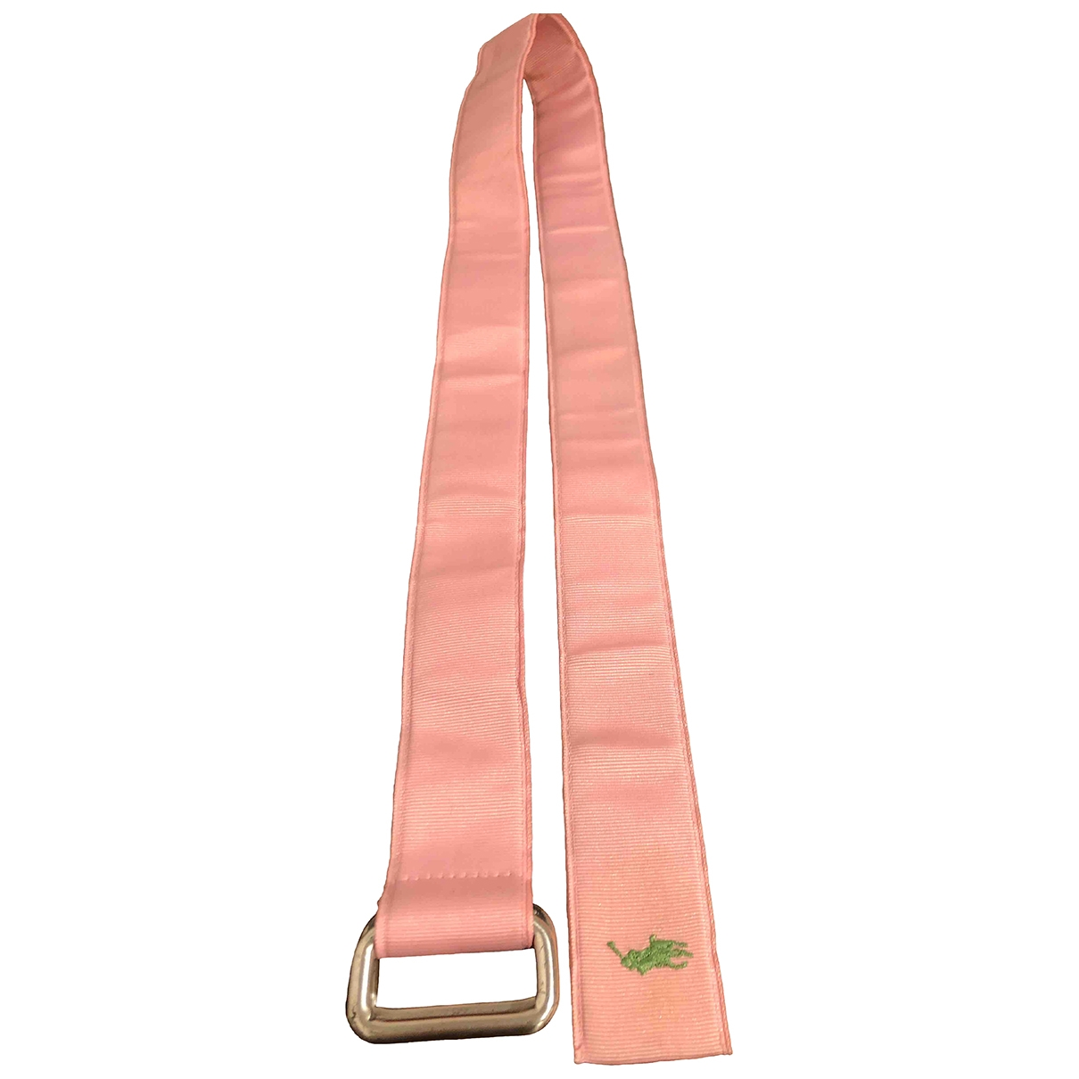 Polo Ralph Lauren \N Pink Cloth belt for Women M International