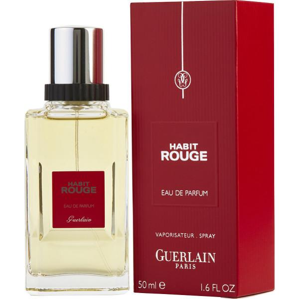 Guerlain - Habit Rouge : Eau de Parfum Spray 1.7 Oz / 50 ml