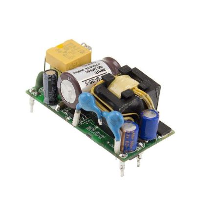 Mean Well , 21.6W Embedded Switch Mode Power Supply SMPS, 12V dc, Medical Approved