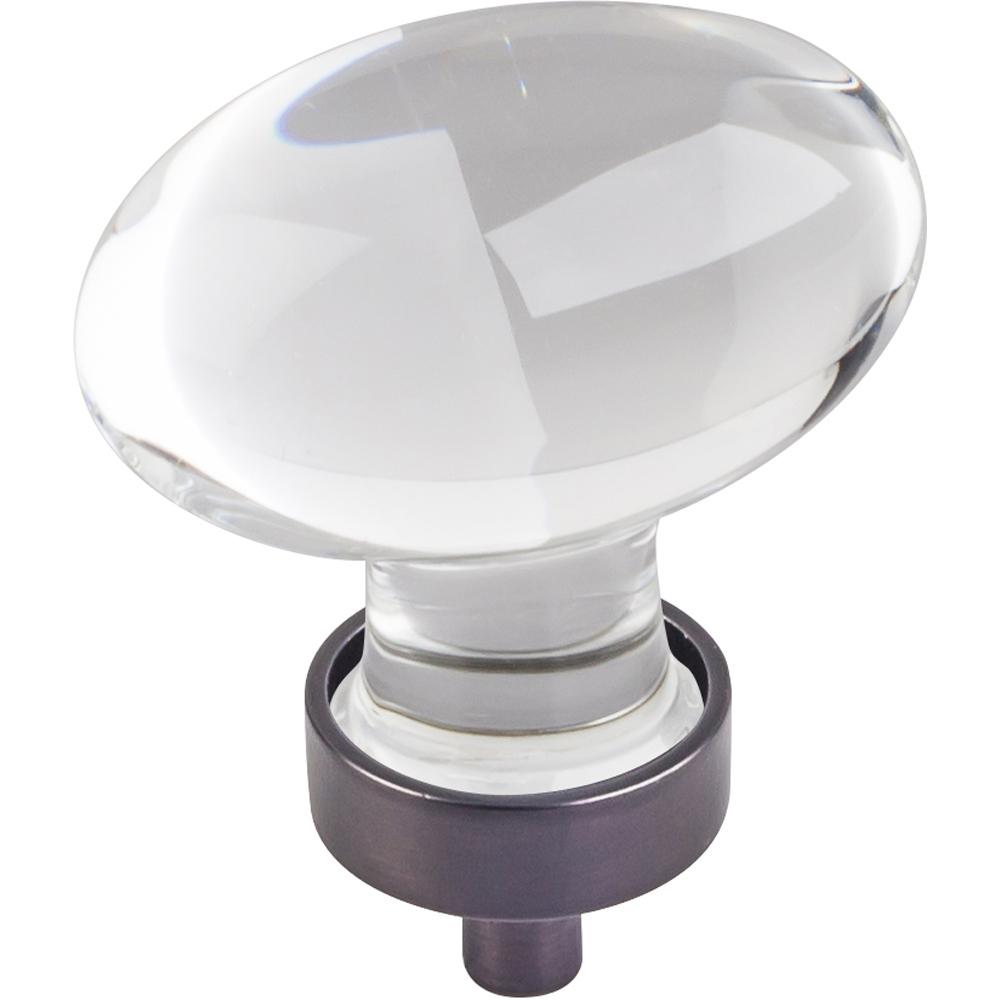Harlow Large Football Glass Knob,1-5/8