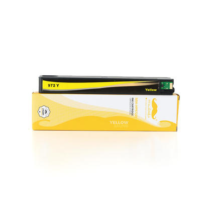 Compatible HP PageWide 377dw  Ink HP 972A L0R92AN Yellow PageWide