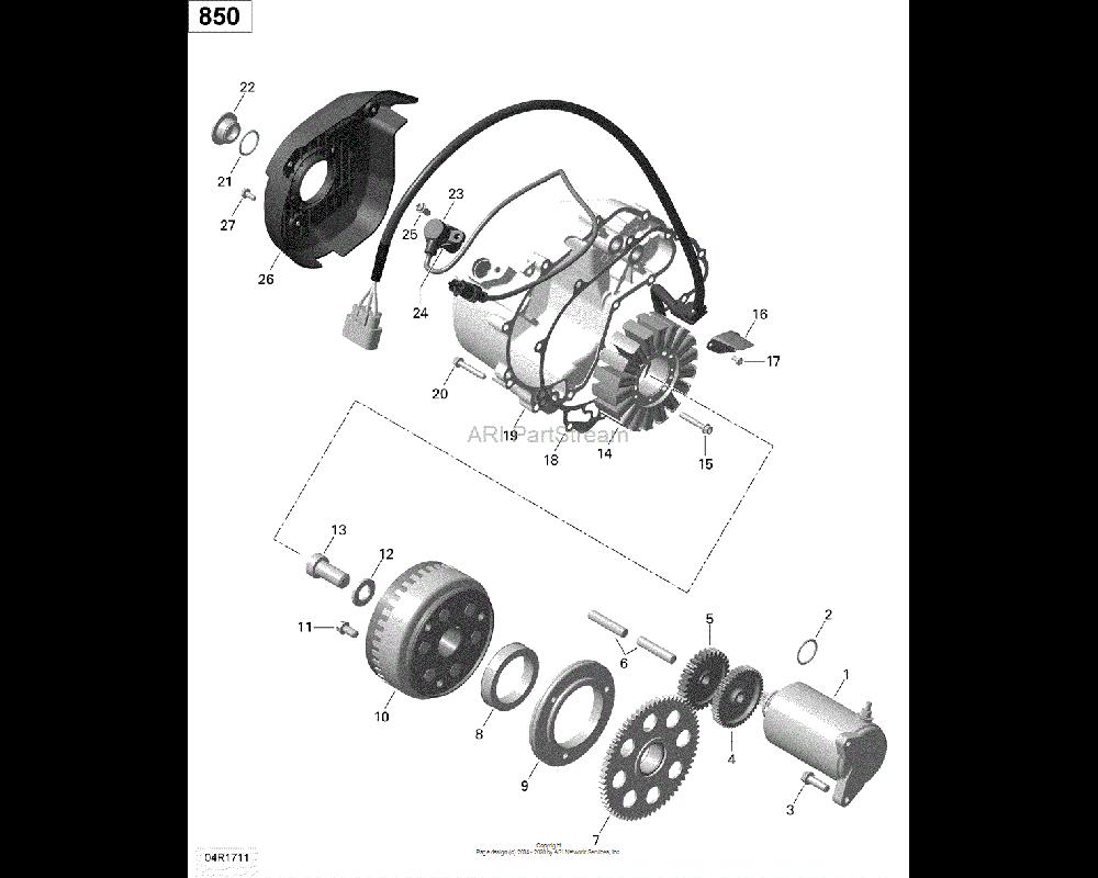 Can-AM OEM Taptite Screw M5 x 12