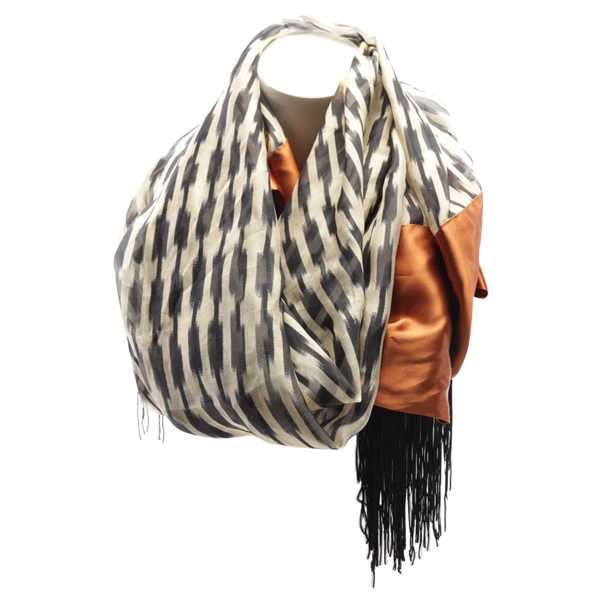 Forte_forte N Multicolour Silk scarf for Women N