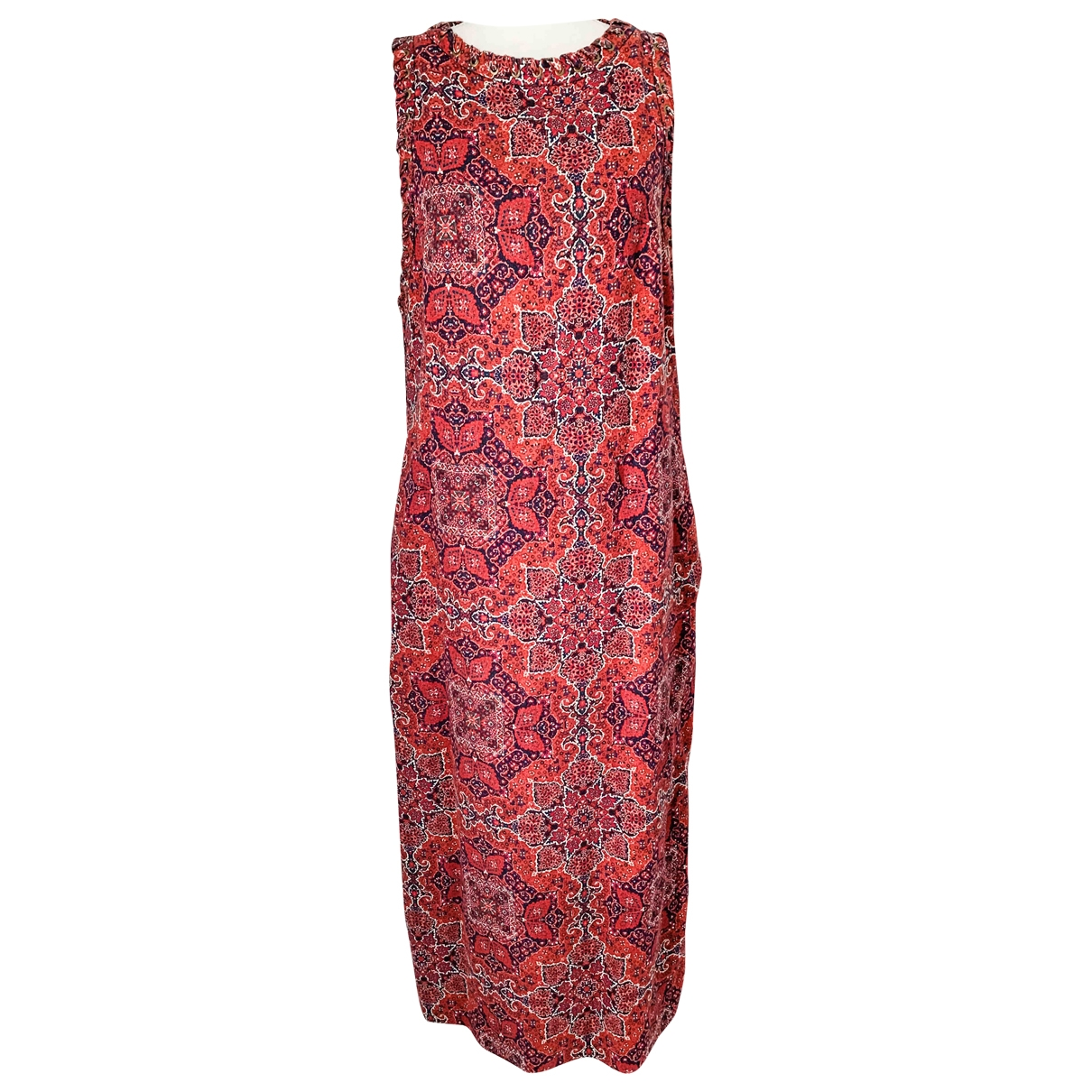 Zimmermann \N Red Cotton dress for Women 1 0-5