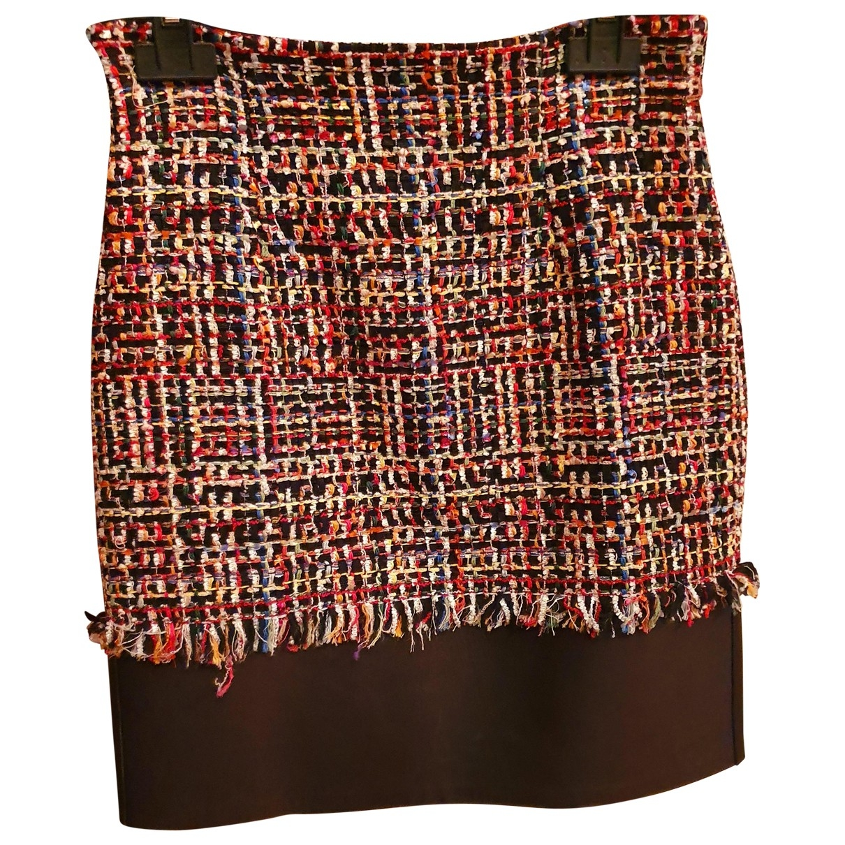 Alexander Mcqueen \N Multicolour Tweed skirt for Women 38 IT