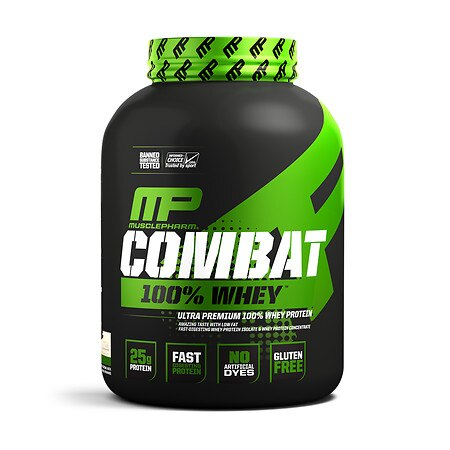 MusclePharm Combat 100% Whey - 80.0 oz