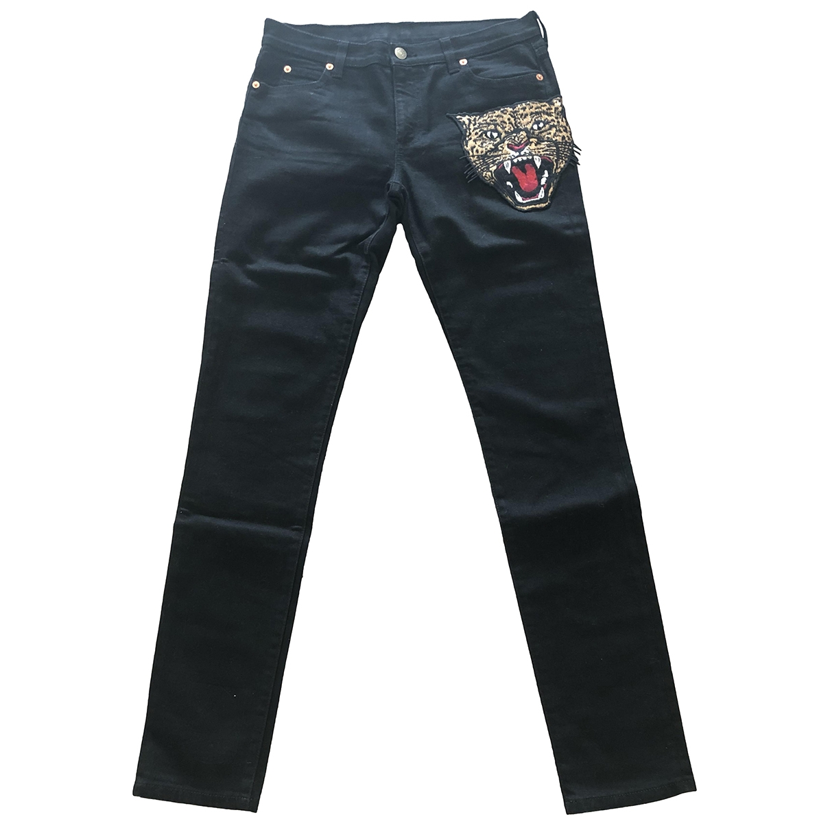 Gucci \N Black Denim - Jeans Jeans for Women 27 US