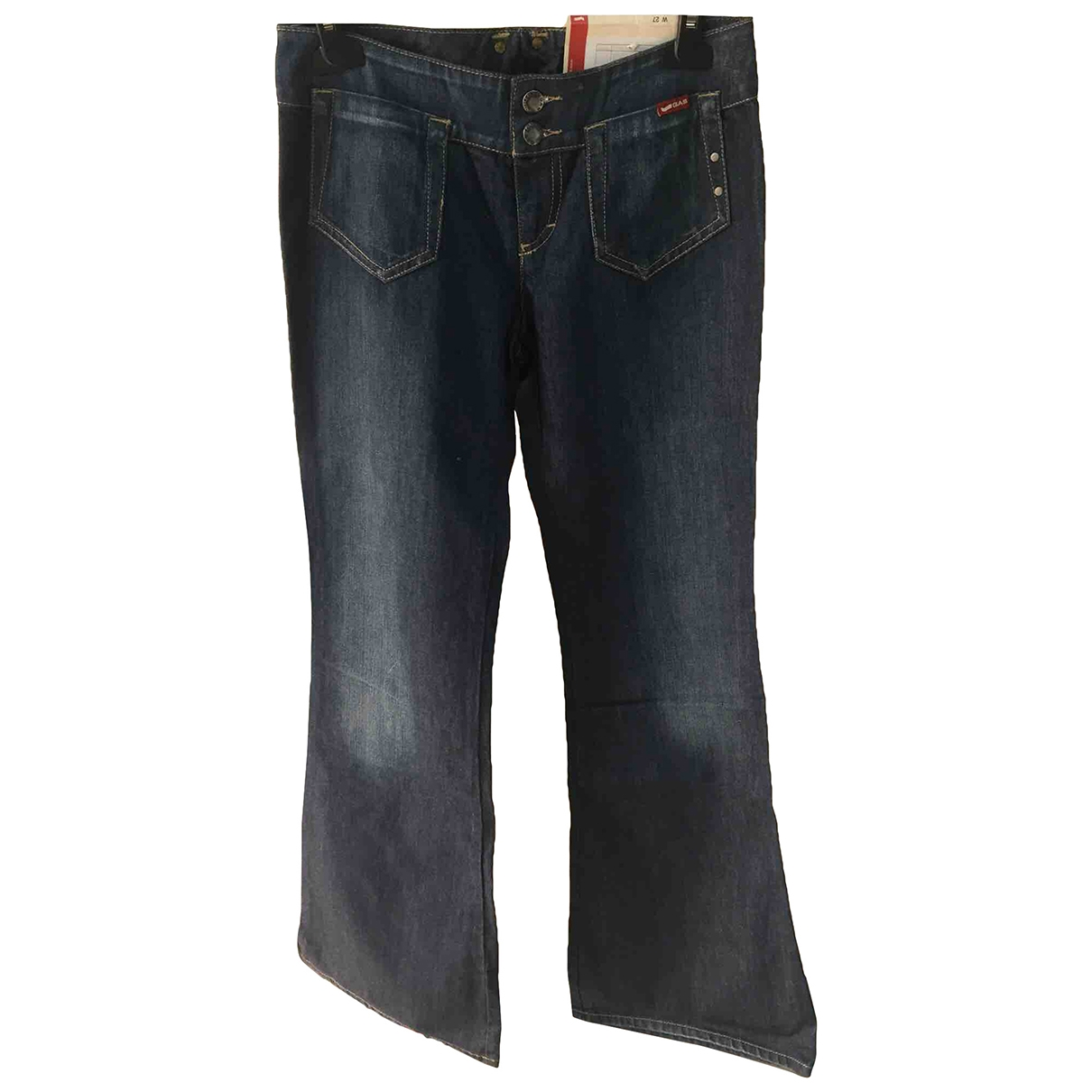 Gas \N Blue Denim - Jeans Jeans for Women 27 US