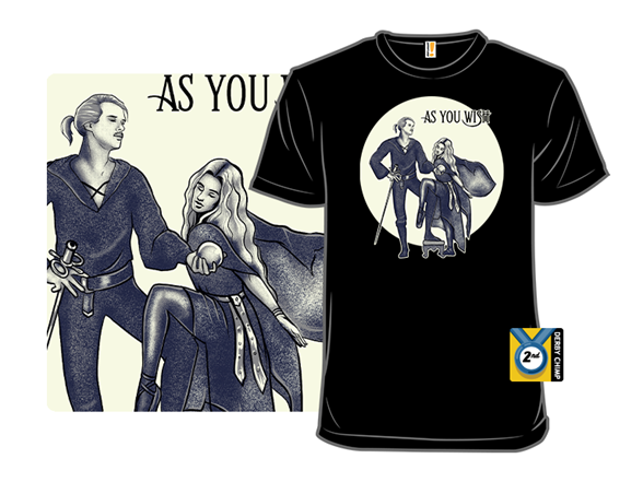 Princess Bride Rumours T Shirt