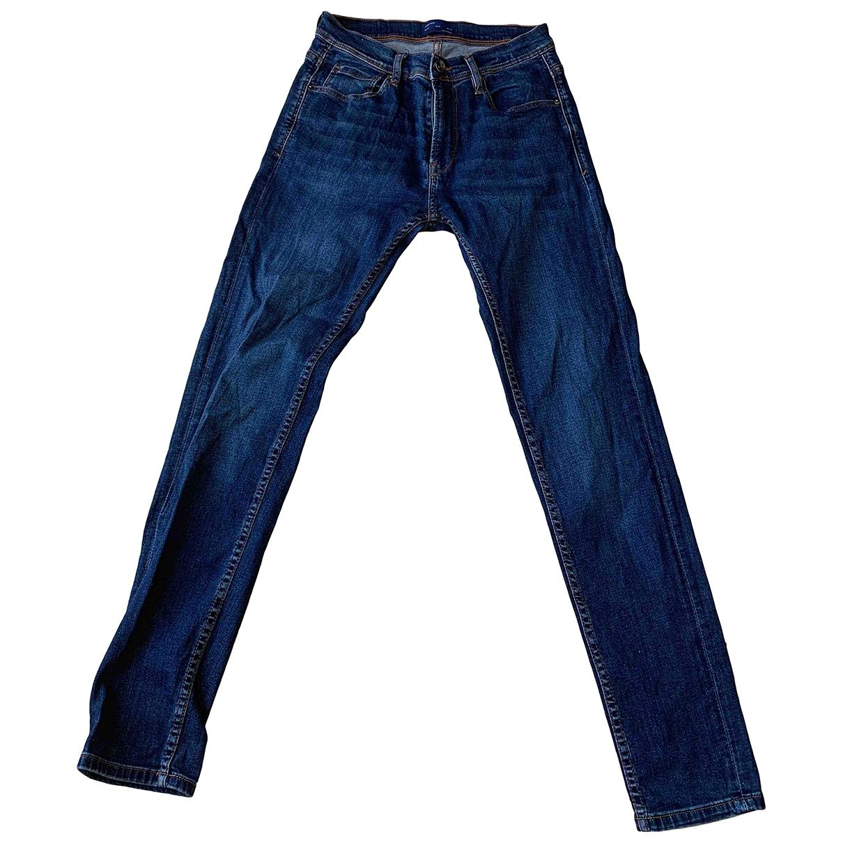 Zara \N Blue Cotton Jeans for Men 27 US