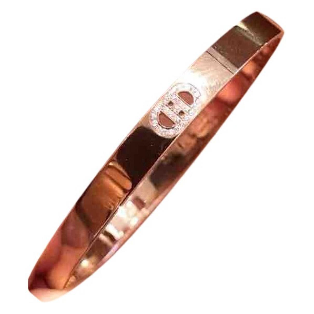Hermès H d'Ancre Pink Pink gold bracelet for Women \N