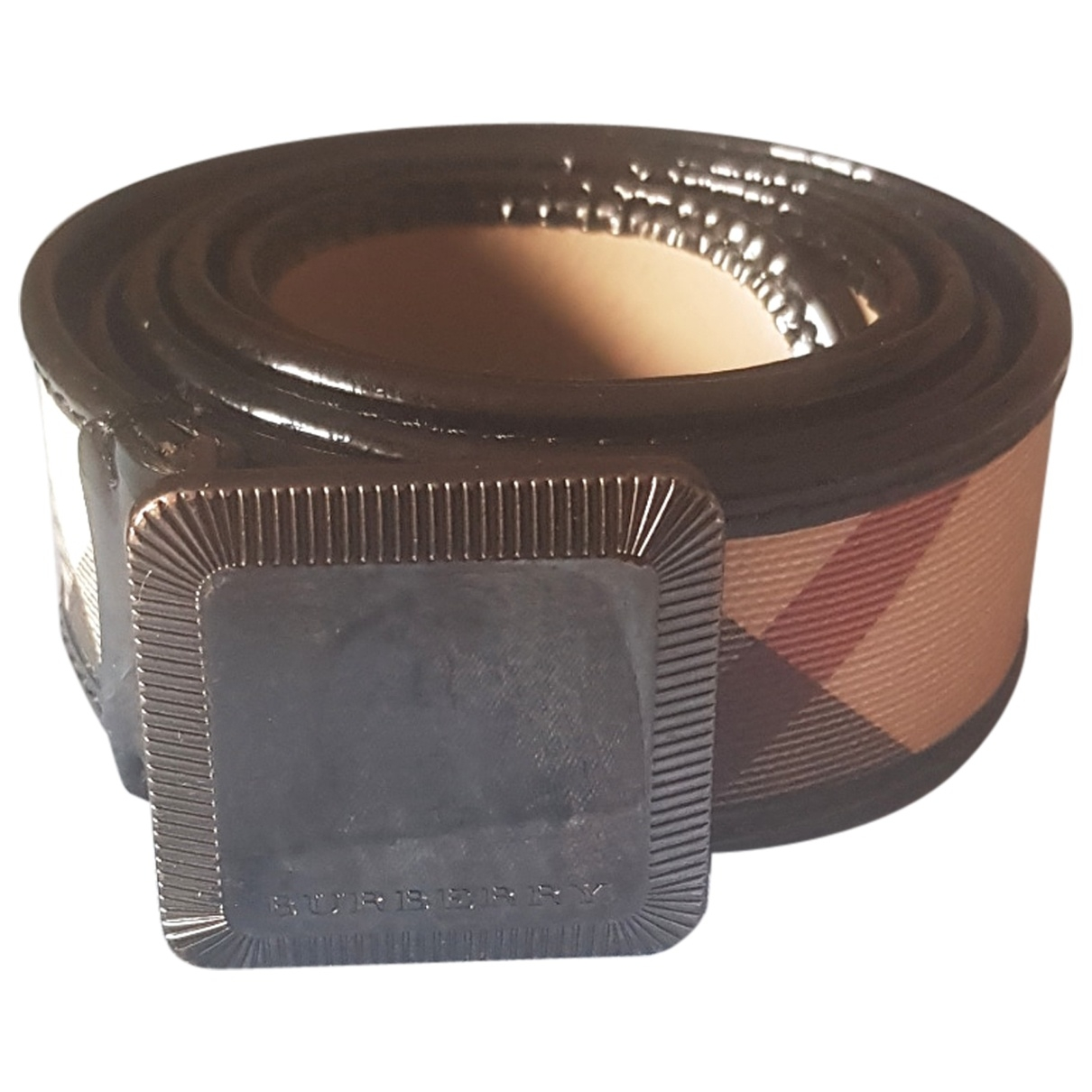 Burberry \N Multicolour Cloth belt for Women 90 cm