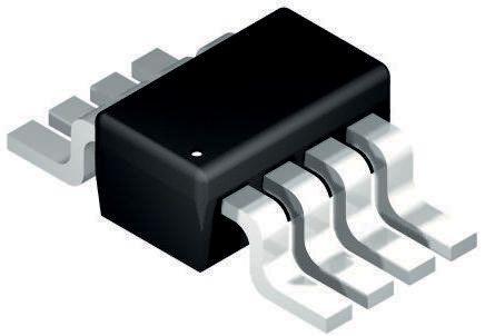 Analog Devices AD5160BRJZ50-RL7, Digital Potentiometer 50kΩ 256-Position Linear Serial-SPI 8 Pin, SOT-23 (5)