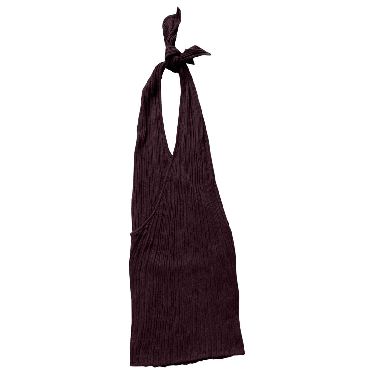Jacquemus La Bomba Brown Cotton  top for Women 36 FR