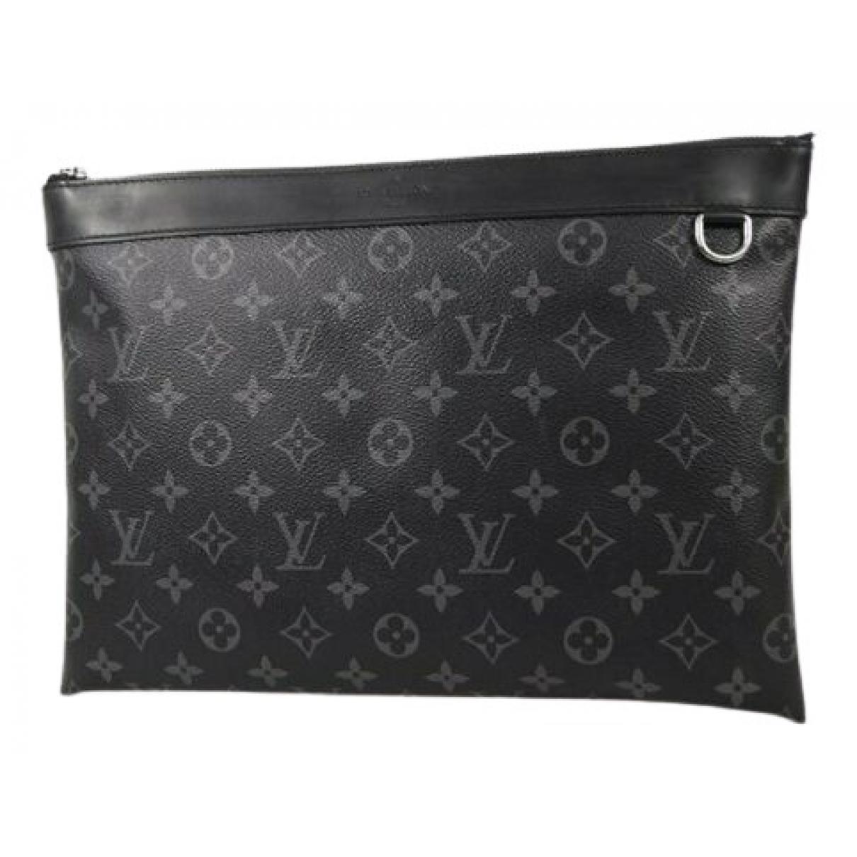 Louis Vuitton Apollo Pochette  Anthracite Cloth bag for Men \N