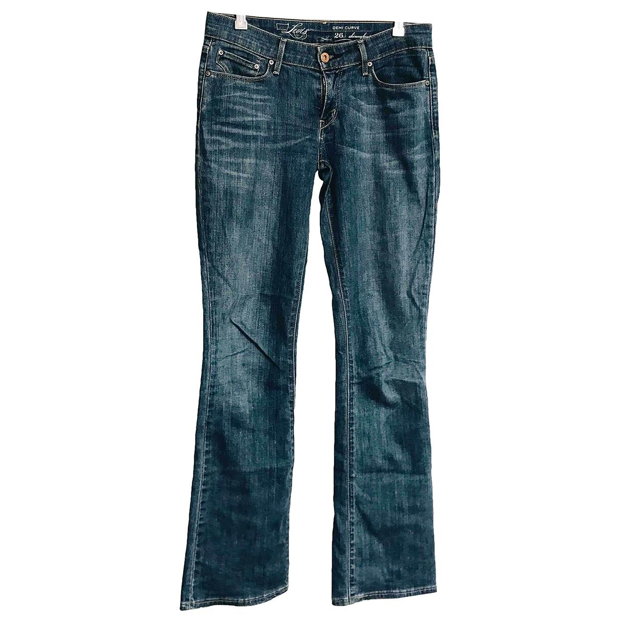 Levi's \N Blue Denim - Jeans Jeans for Women 26 US