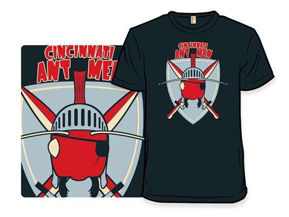 Cincinnati Antmen T Shirt