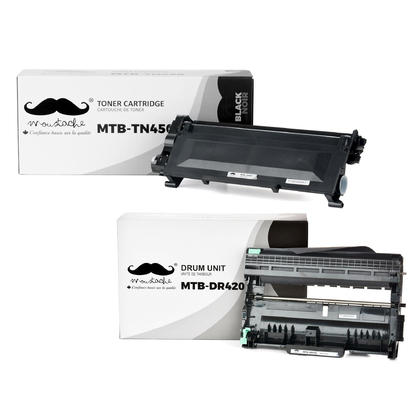 Compatible Brother MFC-7460DN Toner and Drum Combo