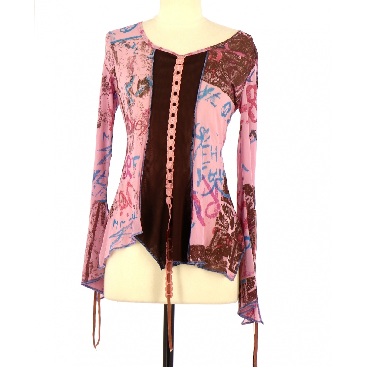 Non Signé / Unsigned \N Pink  top for Women 36 FR