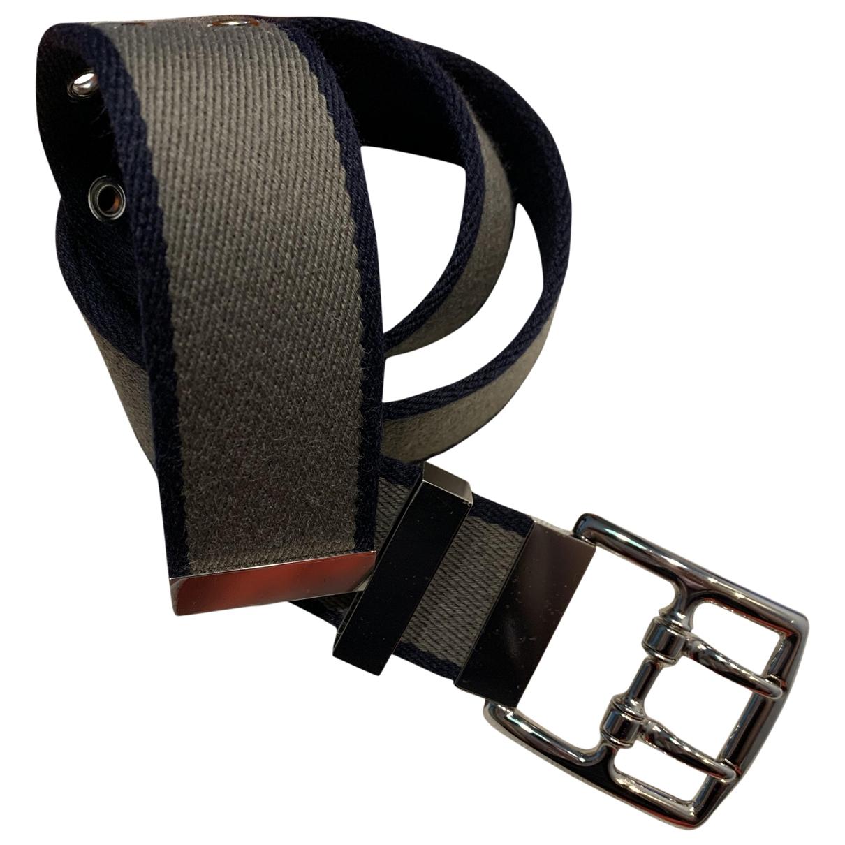 Hermès Etrivière Multicolour Cloth belt for Men XS