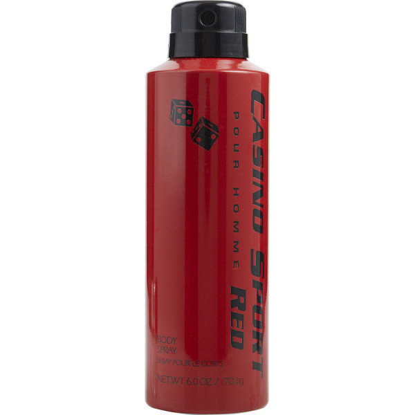 Casino Perfumes - Casino Sport Red : Body Spray 170 g