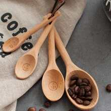 4pcs Wooden Measuring Spoon Set