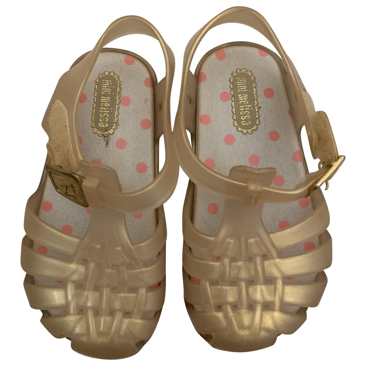 Melissa \N Gold Sandals for Kids 23 EU