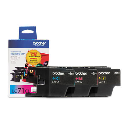 Brother MFC-J625DW Original Colour Ink Cartridges Cyan/Magenta/Yellow, 3-Pack Combo
